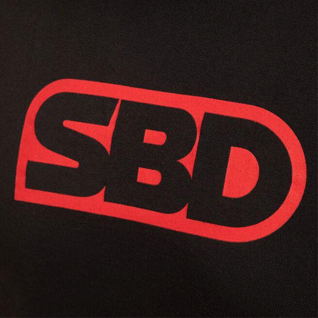 SBD Classic T-Shirt - Women's, Black w/Red