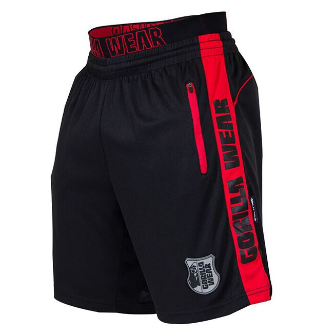 Shelby Shorts, Black/Red, M