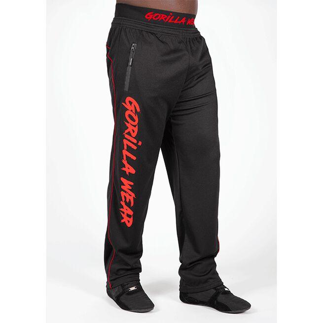Mercury Mesh Pants, Black/Red, S/M