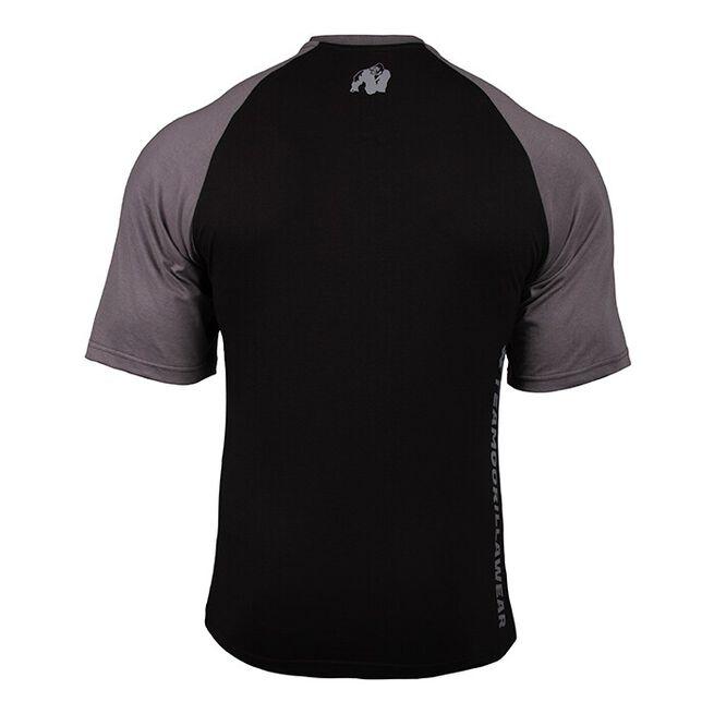 Texas T-shirt, Black/Dark Grey, M