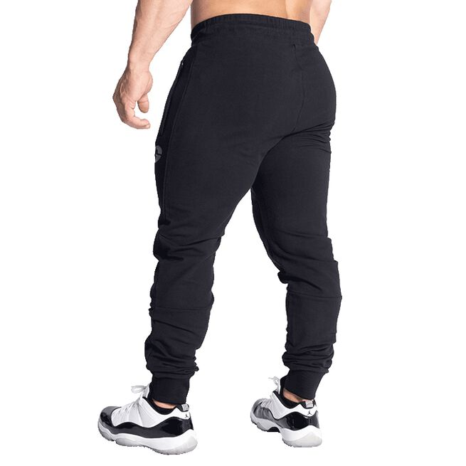 GASP Tapered Joggers, Black, S