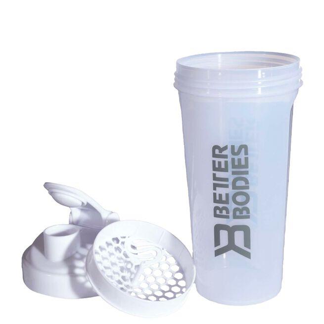 Better Bodies Shaker 0,8L White Grey