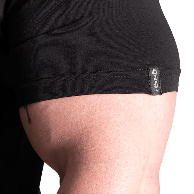 Gasp Classic Tapered Tee, Black