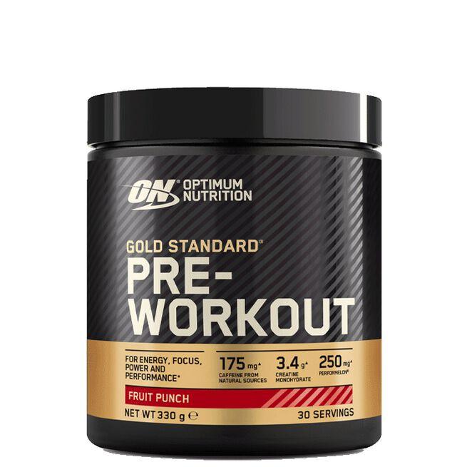 Gold Standard Pre-Workout, 330g, Fruit Punch