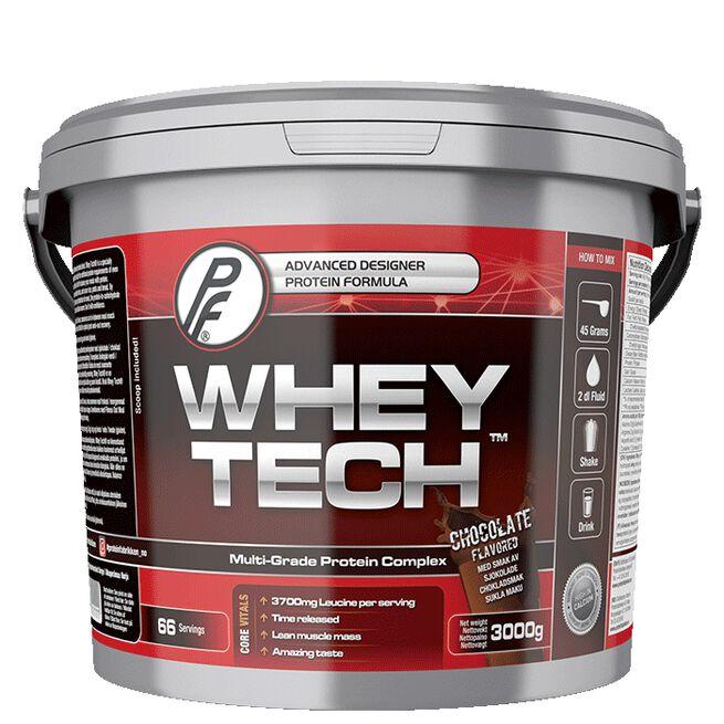 Whey Tech Protein 3000g Sjokolade