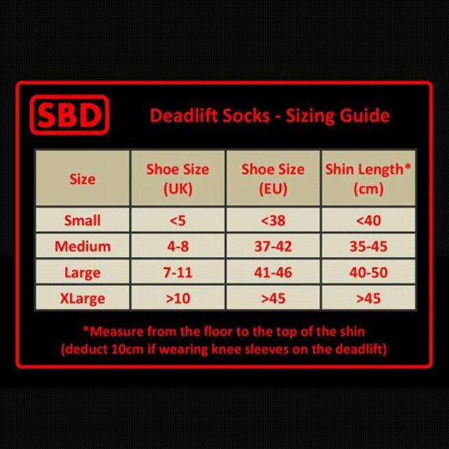 SBD Deadlift Socks 2020