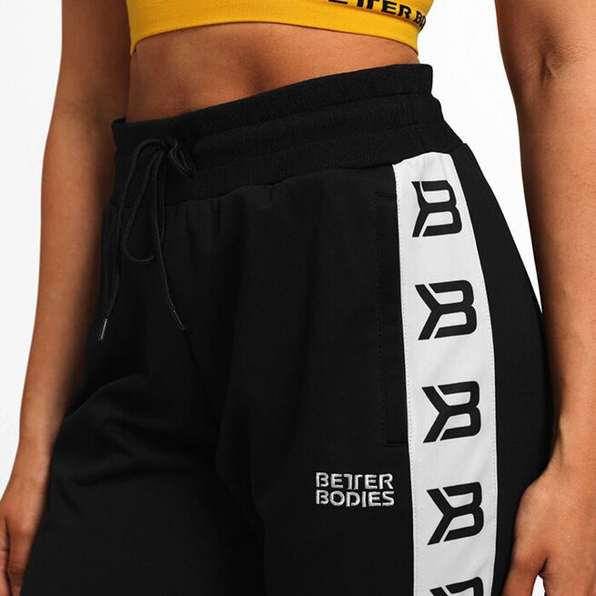 Chelsea Track Pants, Black, S