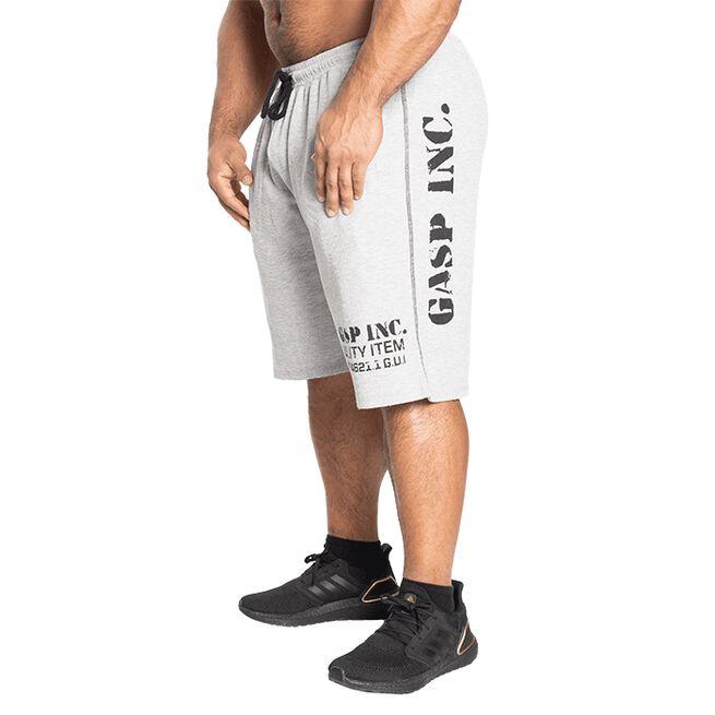 Gasp Thermal Shorts, Grey Melange