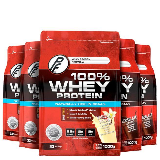 Proteinfabrikken PF whey 100 x 5