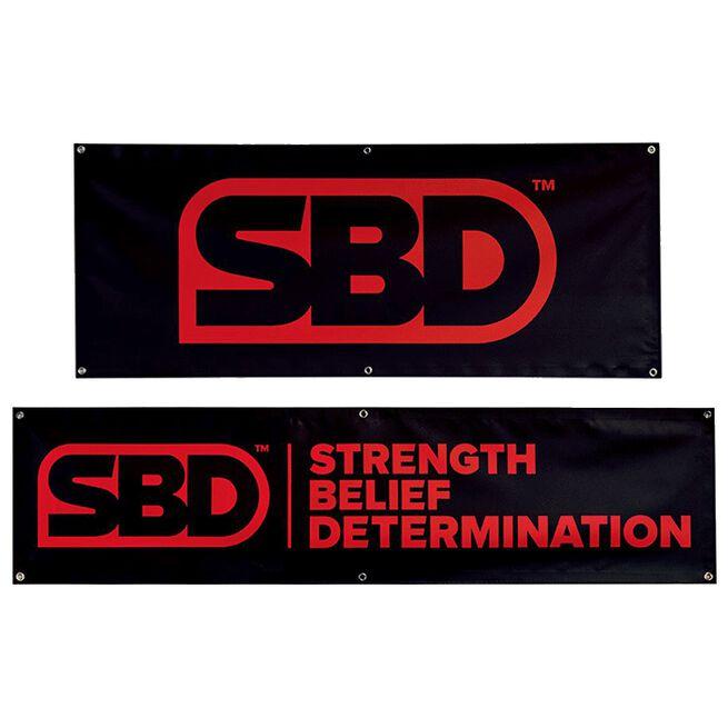 SBD Banner, Slogan, 6' x 1.5