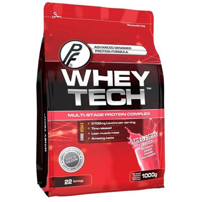 Whey Tech Protein, 1000 g, Jordbaer