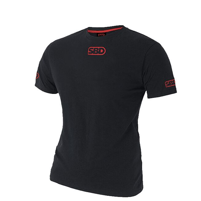 SBD Competition T-Shirt - Women's, Black w/Red
