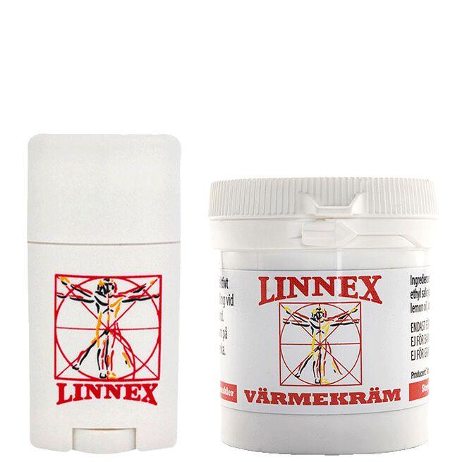 Linnex Stick, 50 g + Linnex Varmekrem, 100ml