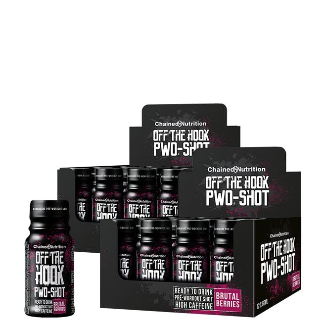 Chained Nutrition PWO Brutal berries