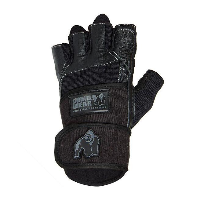 Dallas Wrist Wrap Gloves, black - 2XL