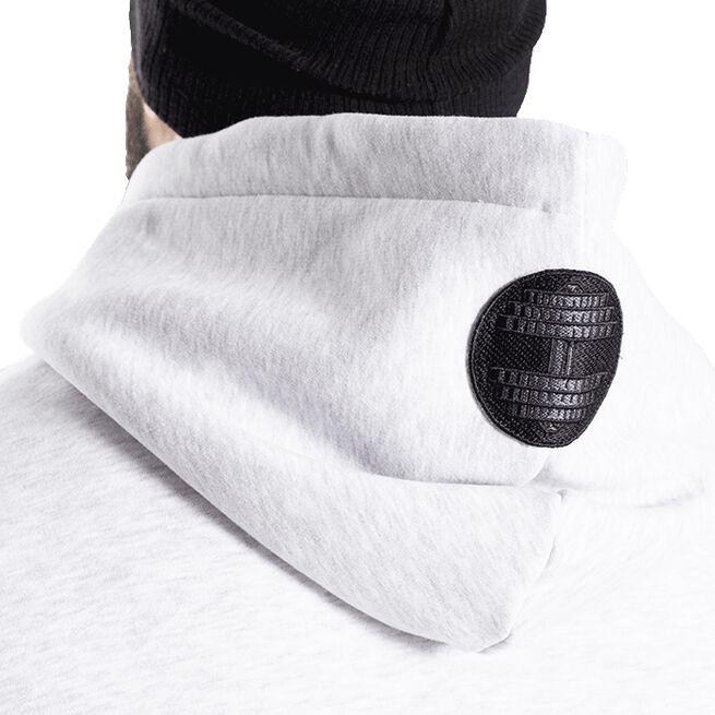 Graphic Hoodie, Light Grey Melange, S
