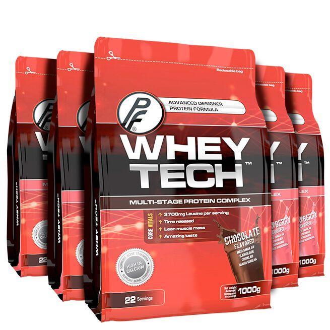 Proteinfabrikken PF Whey Tech x 5