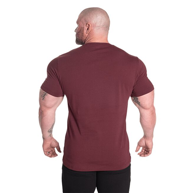 Gasp Classic Tapered Tee, Maroon