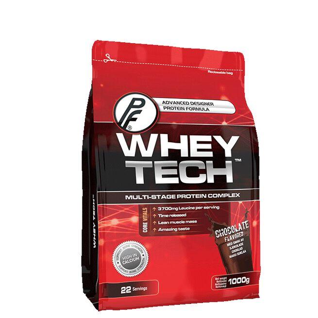 Whey Tech Protein 1000g Sjokolade