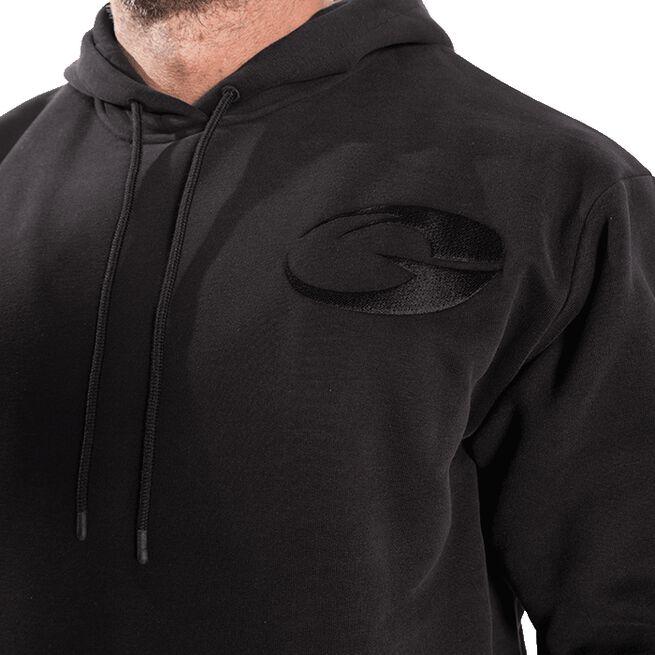 GASP Logo Hoodie, Black, M