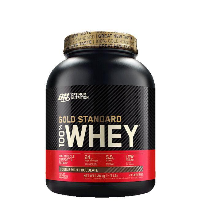 Optimum Nutrition, Gold Standard Whey, 2273 gram, Double Rich Chocolate