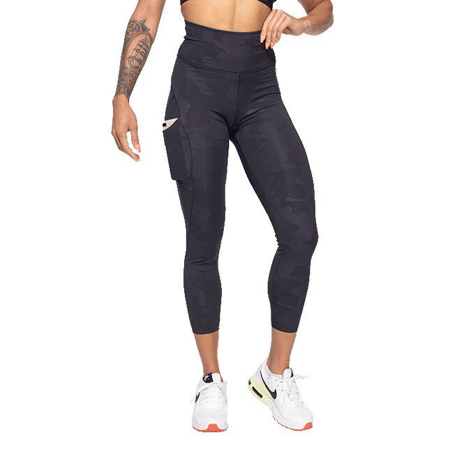 Better Bodies High Waist Leggings, Black Camo