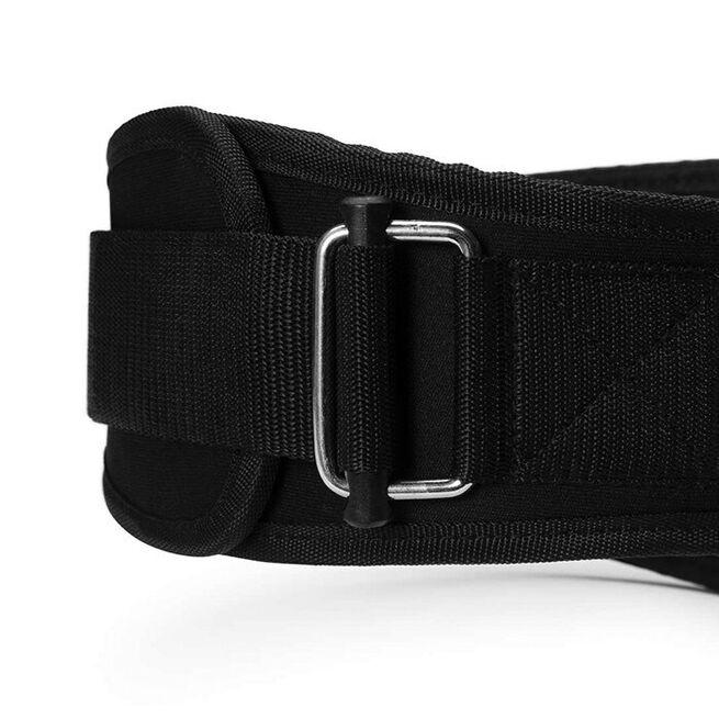 Womens gym belt, L, Black/aqua