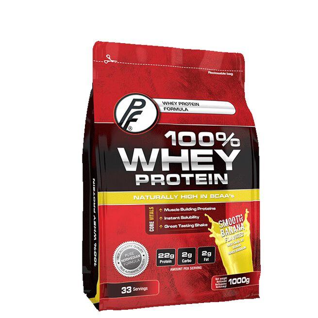 100% Whey Protein 1000g Banana