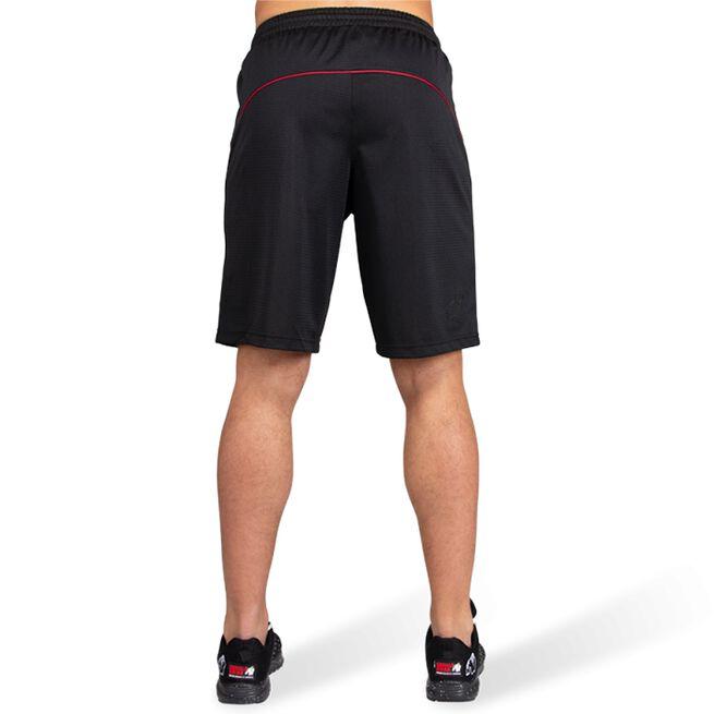 Branson Shorts, Black/Red, S