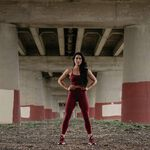 Rockaway Tights, Sangria Red, S