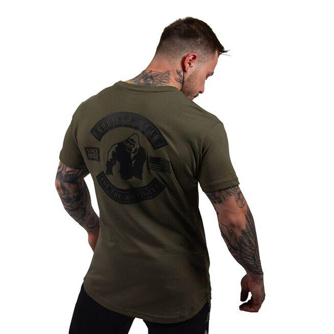 Detroit T-Shirt, Army Green, S