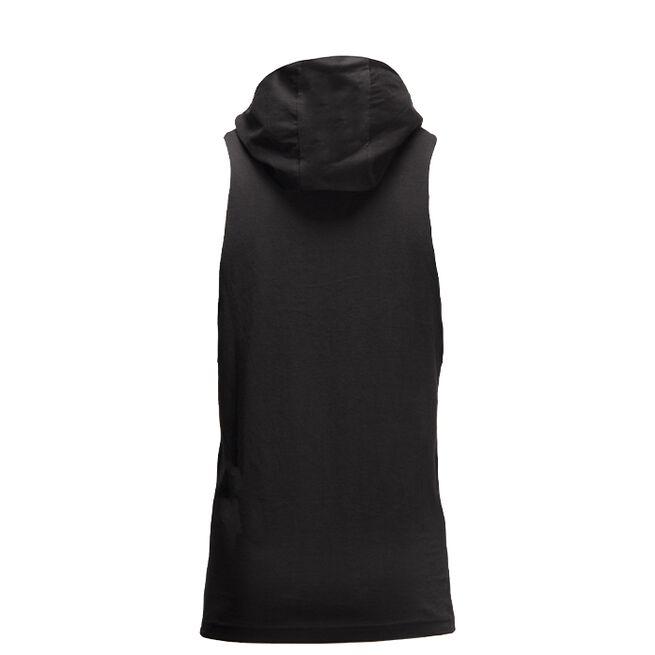 Rogers Hooded Tank Top, Black, S
