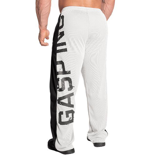 GASP No 1 Mesh Pant White Grey