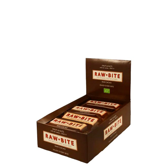 Raw bite 12 x Raw Cacao, 50 g