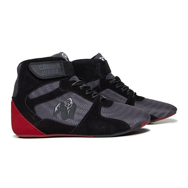 Perry High Tops Pro, Grey/Black/Red, 36