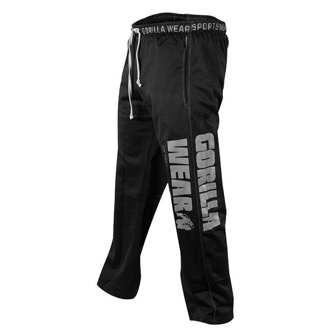 Logo Mesh Pants, Black, L/XL